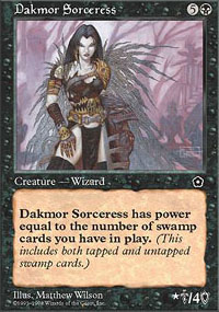 Dakmor Sorceress - Portal Second Age