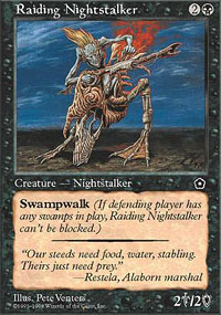 Raiding Nightstalker - Portal Second Age