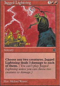 Jagged Lightning - Portal Second Age