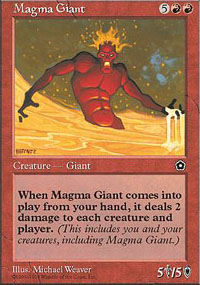 Magma Giant - Portal Second Age
