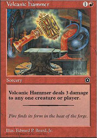 Volcanic Hammer - Portal Second Age