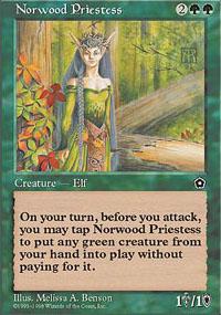 Norwood Priestess - Portal Second Age