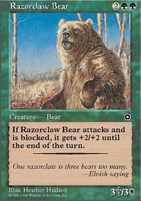 Razorclaw Bear - Portal Second Age