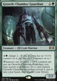Growth-Chamber Guardian - Planeswalker symbol stamped promos