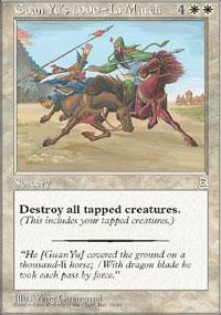 Guan Yu's 1,000-Li March - Portal Three Kingdoms