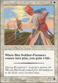 Shu Soldier-Farmers - Portal Three Kingdoms