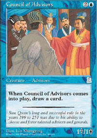 Council of Advisors - Portal Three Kingdoms