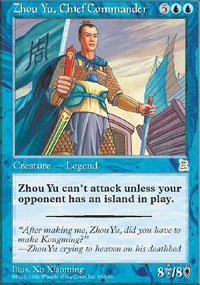 Zhou Yu, Chief Commander - Portal Three Kingdoms