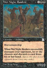 Wei Night Raiders - Portal Three Kingdoms