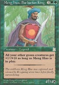 Meng Huo, Barbarian King - Portal Three Kingdoms