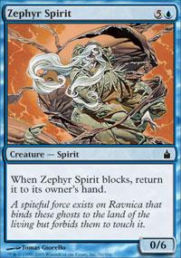 Zephyr Spirit - Ravnica