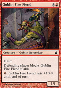 Goblin Fire Fiend - Ravnica