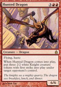 Hunted Dragon - Ravnica