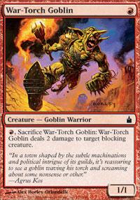War-Torch Goblin - Ravnica