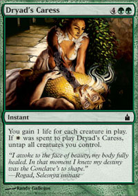 Dryad's Caress - Ravnica