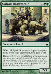 Golgari Brownscale - Ravnica