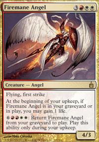 Firemane Angel - Ravnica