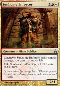 Sunhome Enforcer - Ravnica