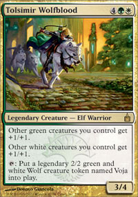 Tolsimir Wolfblood - Ravnica