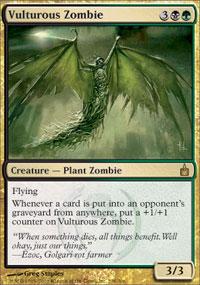 Vulturous Zombie - Ravnica