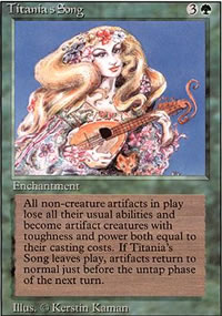 Titania's Song - Revised Edition