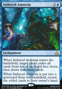 Induced Amnesia - Rivals of Ixalan