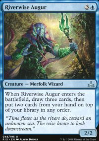 Riverwise Augur - Rivals of Ixalan