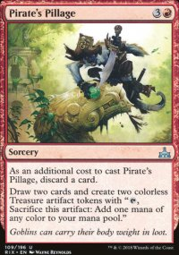 Pirate's Pillage - Rivals of Ixalan
