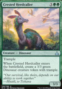 Crested Herdcaller - Rivals of Ixalan