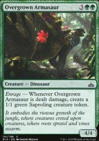 Overgrown Armasaur - Rivals of Ixalan