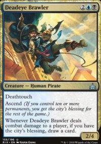 Deadeye Brawler - Rivals of Ixalan