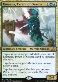 Kumena, Tyrant of Orazca - Rivals of Ixalan