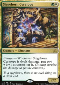 Siegehorn Ceratops - Rivals of Ixalan