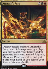 Angrath's Fury - Rivals of Ixalan