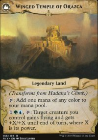 Winged Temple of Orazca - Rivals of Ixalan