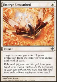 Emerge Unscathed - Rise of the Eldrazi