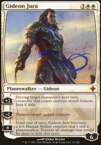 Gideon Jura - Rise of the Eldrazi