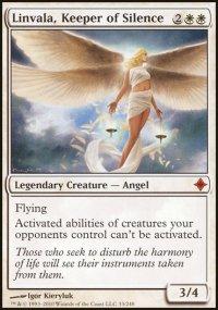 Linvala, Keeper of Silence - Rise of the Eldrazi