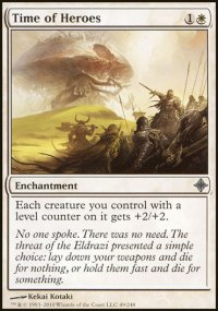 Time of Heroes - Rise of the Eldrazi