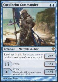 Coralhelm Commander - Rise of the Eldrazi