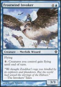 Frostwind Invoker - Rise of the Eldrazi