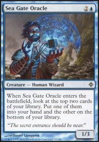 Sea Gate Oracle - Rise of the Eldrazi