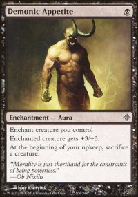 Demonic Appetite - Rise of the Eldrazi