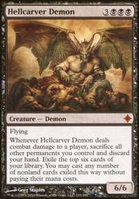 Hellcarver Demon - Rise of the Eldrazi