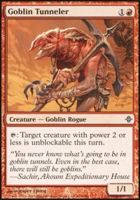 Goblin Tunneler - Rise of the Eldrazi