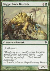 Daggerback Basilisk - Rise of the Eldrazi