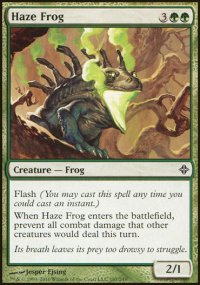 Haze Frog - Rise of the Eldrazi
