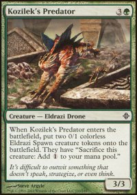 Kozilek's Predator - Rise of the Eldrazi