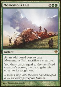 Momentous Fall - Rise of the Eldrazi