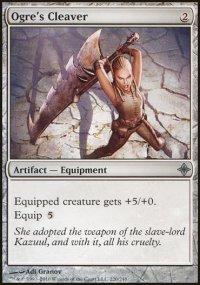 Ogre's Cleaver - Rise of the Eldrazi